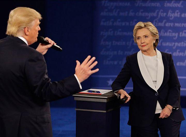 Donald Trump debates Hillary Clinton, St Louis