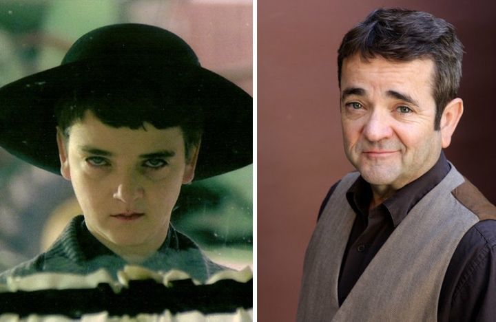 """John Franklin was 23 when he played the creepy child preacher in """"Children of the Corn."""" Today, he is 57 and, after teaching"""