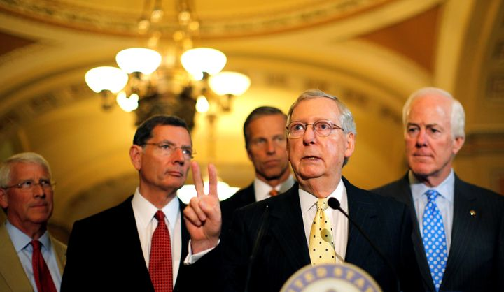Senate Majority Leader Mitch McConnellcould let the Supreme Court wither away while he waits for a Republicanpres