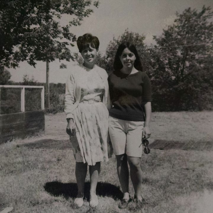 Grandma Belle and her eldest daughter, the author's mother, circa 1966.