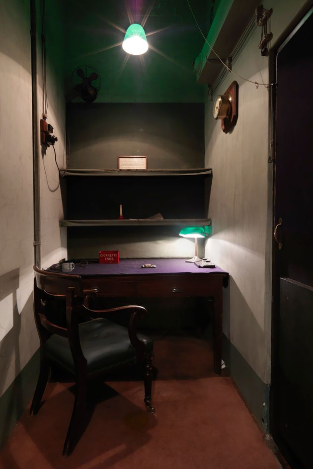 The Transatlantic Telephone Room was a hotline between Churchill and the president of the
