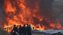 Kids In Calais Have No Idea Where To Go As Fires Decimate Camp During