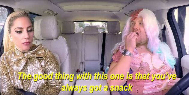 Lady Gaga's Carpool Karaoke With James Corden Just Might Be The Best