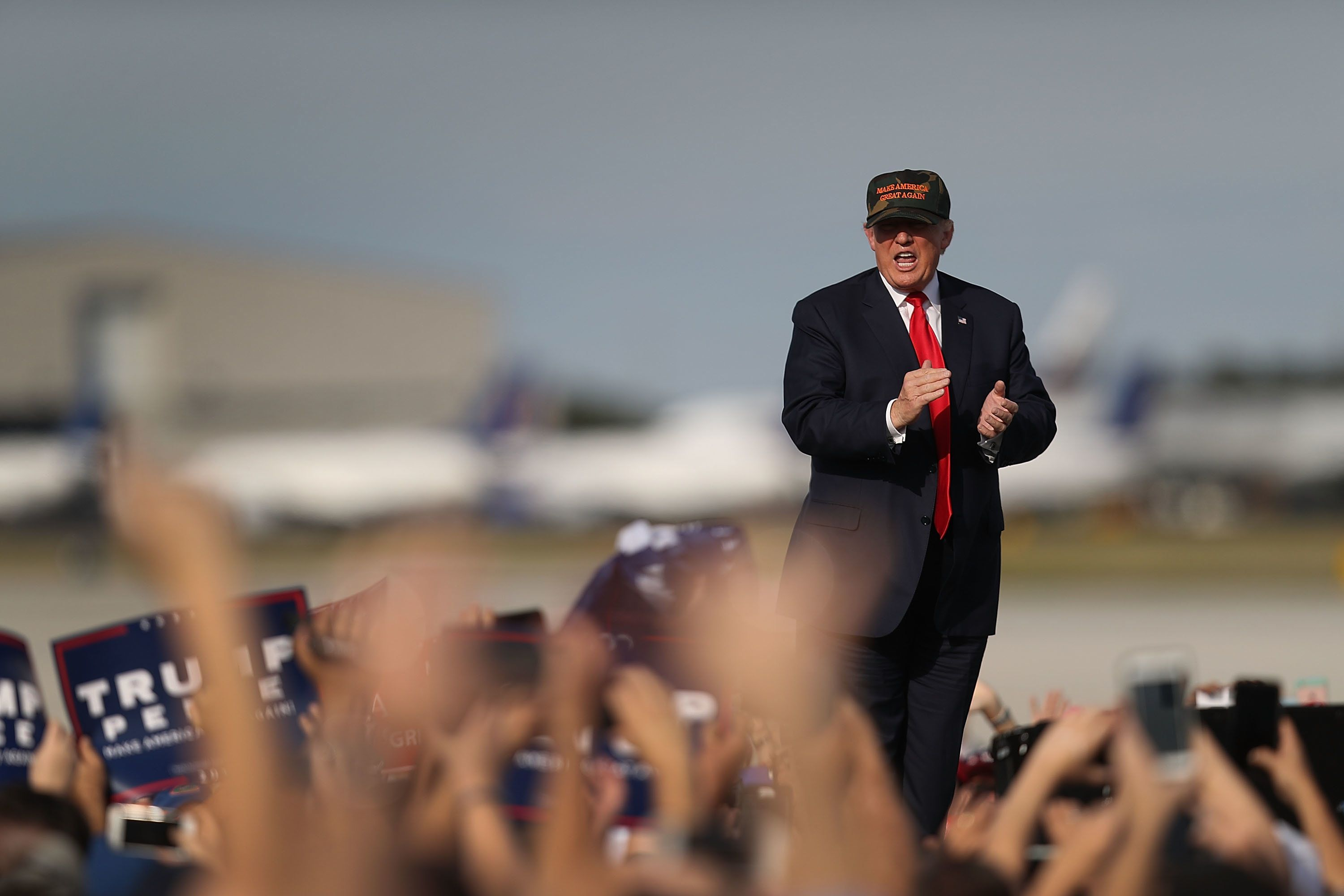 Donald Trump Thought Bringing Women Into The Military Created