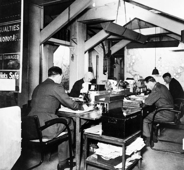 Secrets Of Churchill S Ww2 War Rooms Revealed In New Book