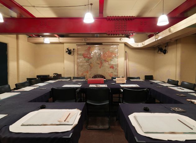The public can still visit the war rooms