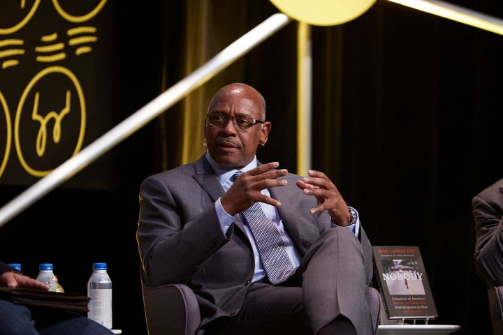 Cedric Alexander at Chicago Ideas Week on Oct. 18. He said better data collection could be an important element of reforming