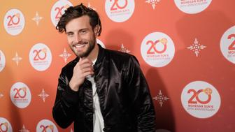 UNCASVILLE, CT - OCTOBER 14:  Actor Nico Tortorella walks the red carpet before the Kevin Hart Official After Party with DJ Ruckus for Mohegan Sun's 20th Anniversary on October 14, 2016 in Uncasville, Connecticut.  (Photo by Dimitrios Kambouris/Getty Images for Mohegan Sun)