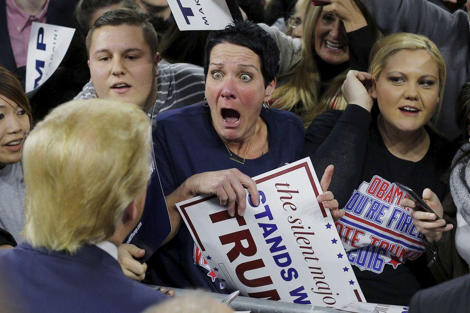 アメリカ大統領選もあとわずか 前代未聞だらけのレースを振り返る(画像集)