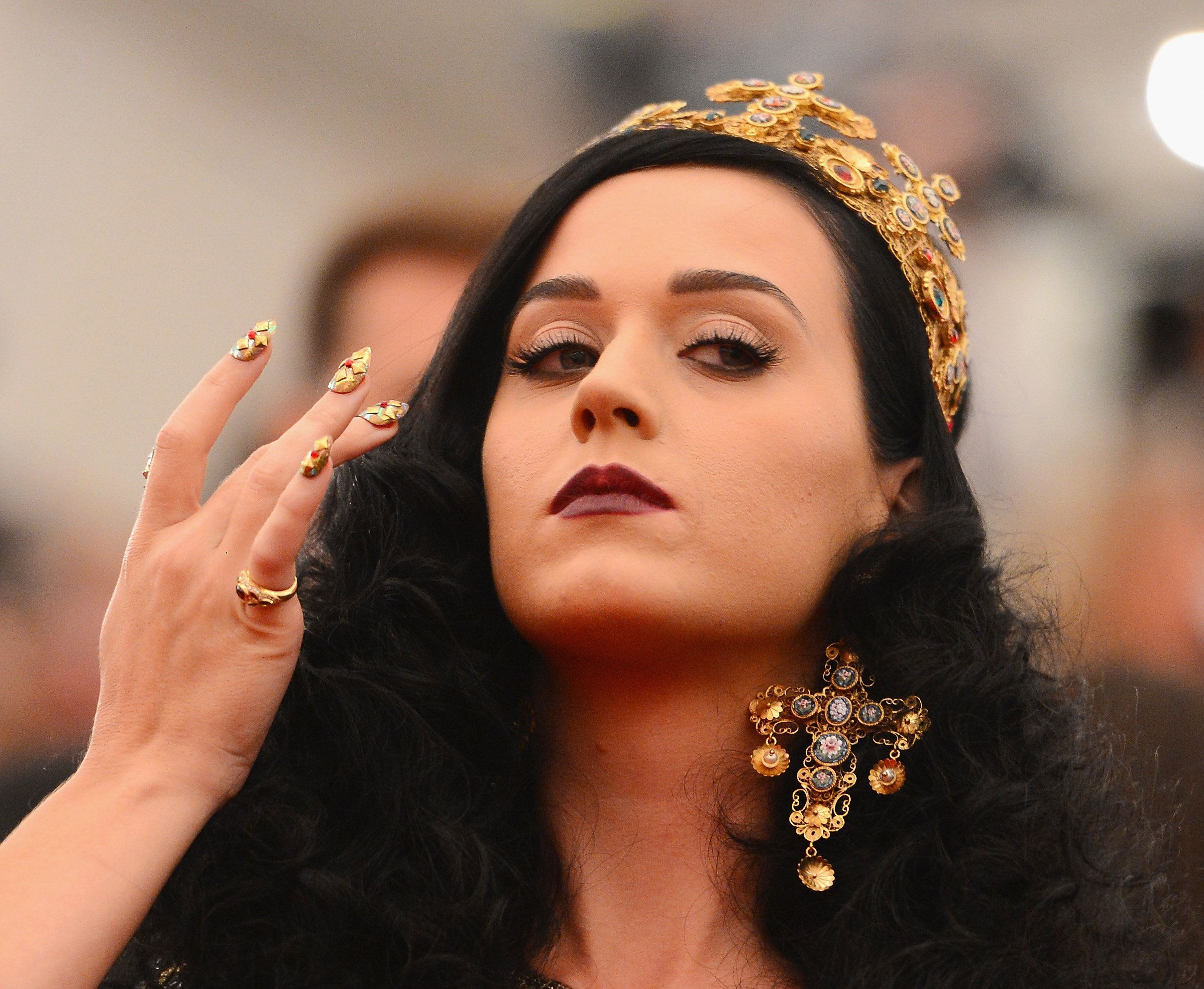 Bow down.