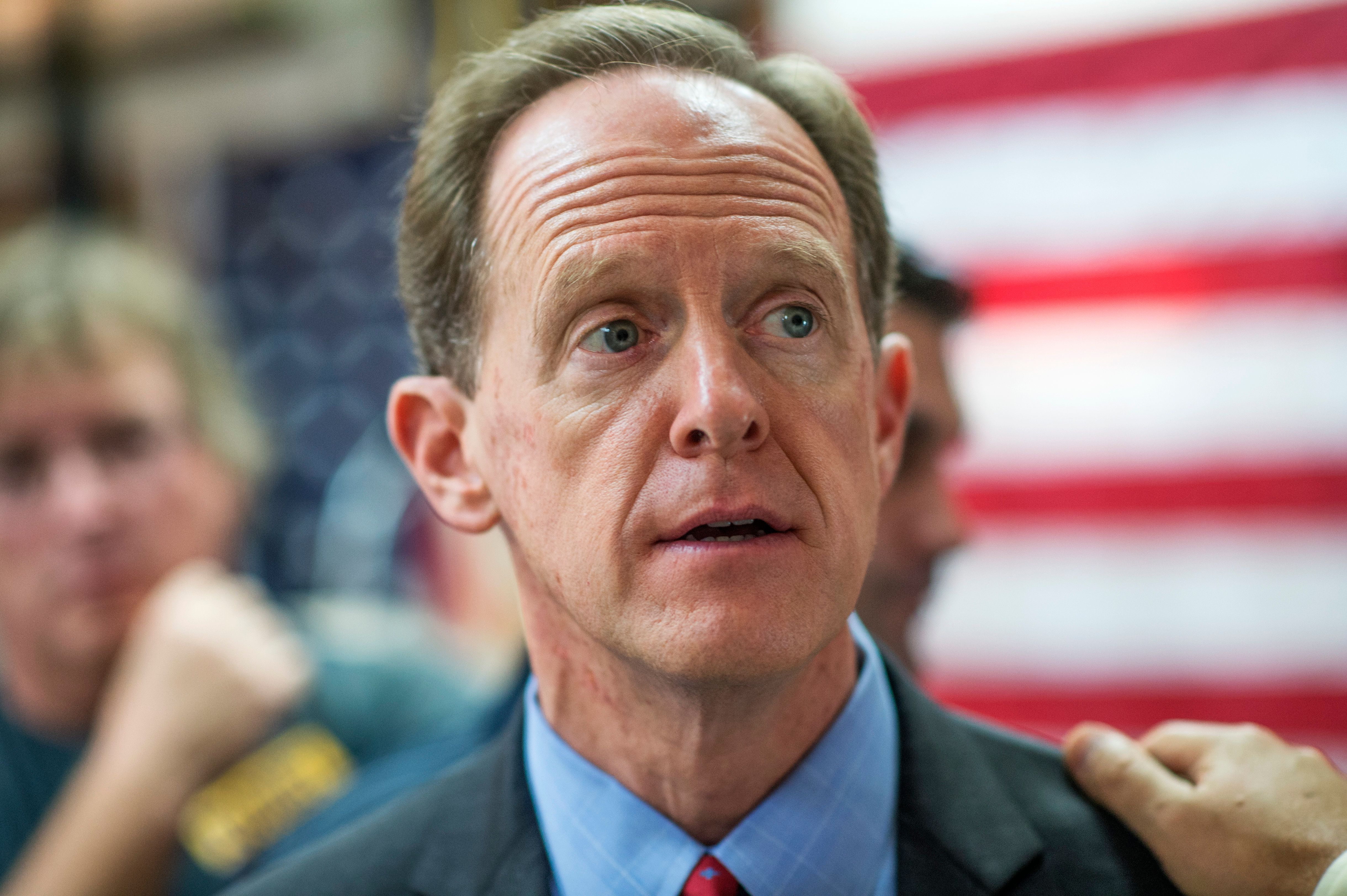 Sen. Pat Toomey (R-Pa.) has released one ad that's critical of Hillary Clinton, while another ad portrays Democrats in a more