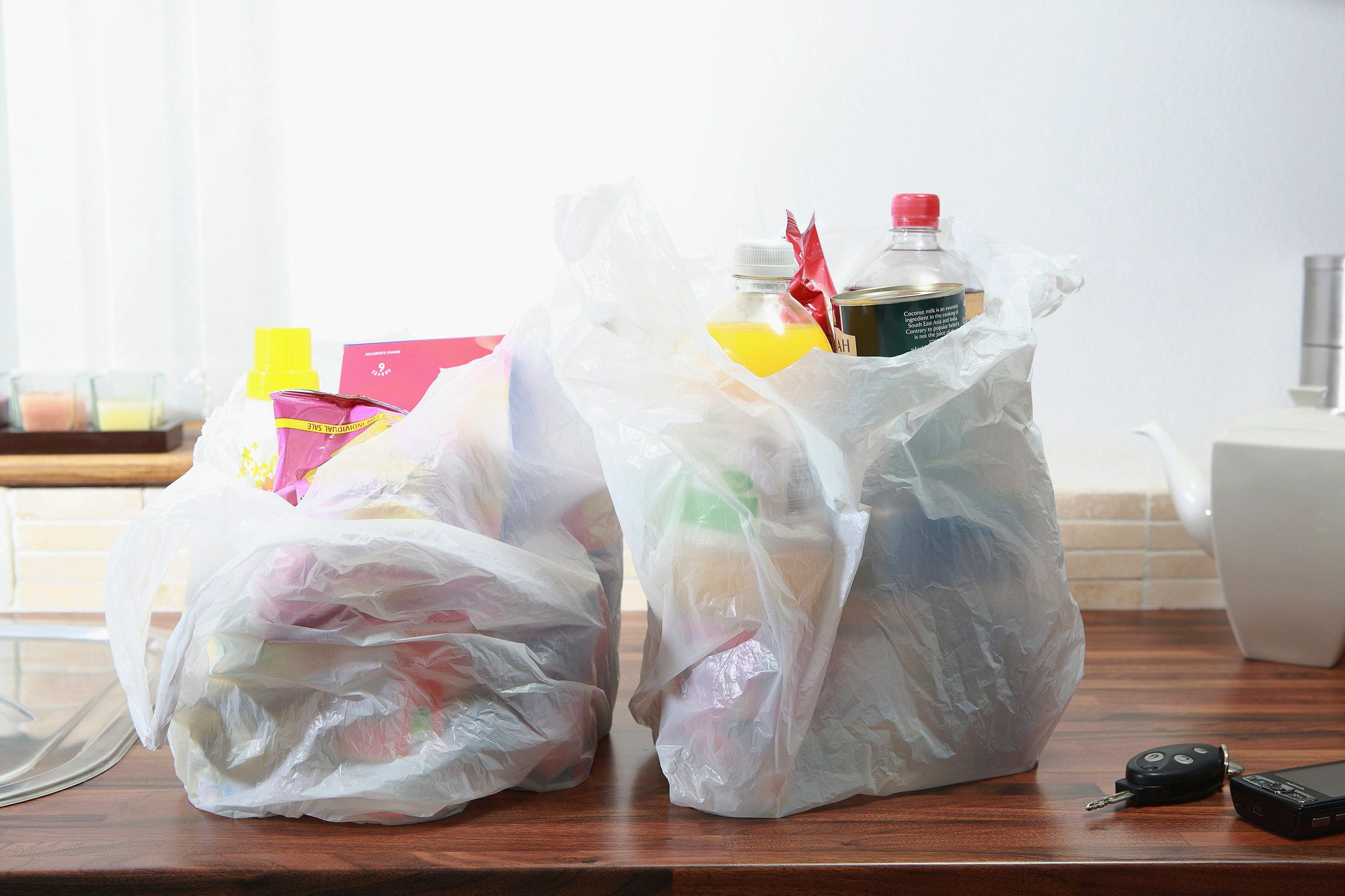 Domestic waste: large amount of packaging on domestic products