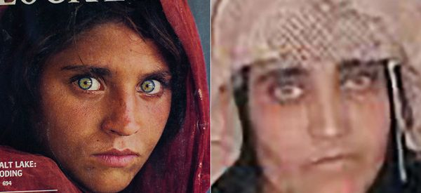 World-Famous 'Afghan Girl' Just Got Arrested For Identity Fraud