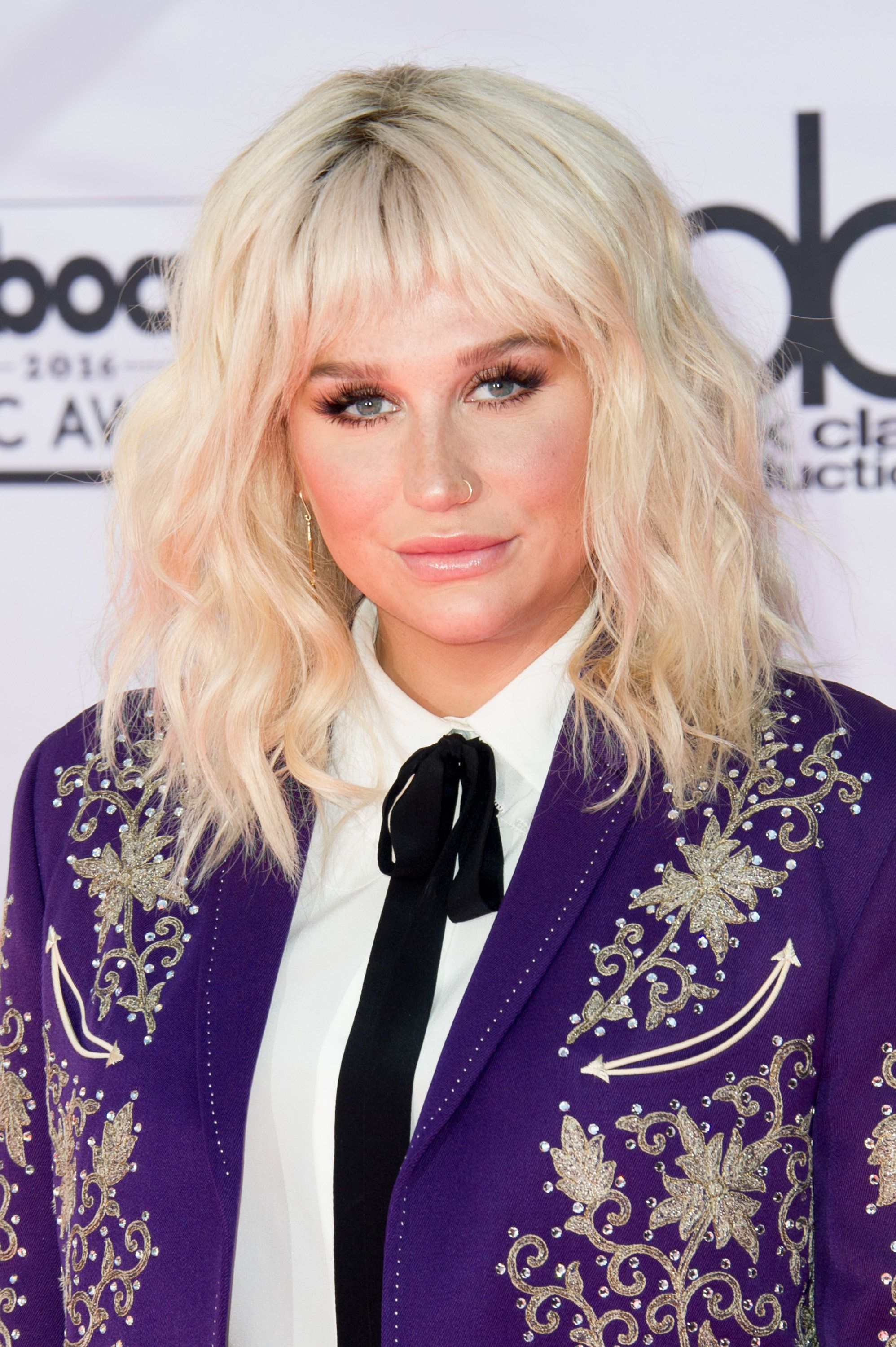 LAS VEGAS, NV - MAY 22:  Singer Kesha arrives at the 2016 Billboard Music Awards at T-Mobile Arena on May 22, 2016 in Las Vegas, Nevada.  (Photo by Allen Berezovsky/Getty Images)