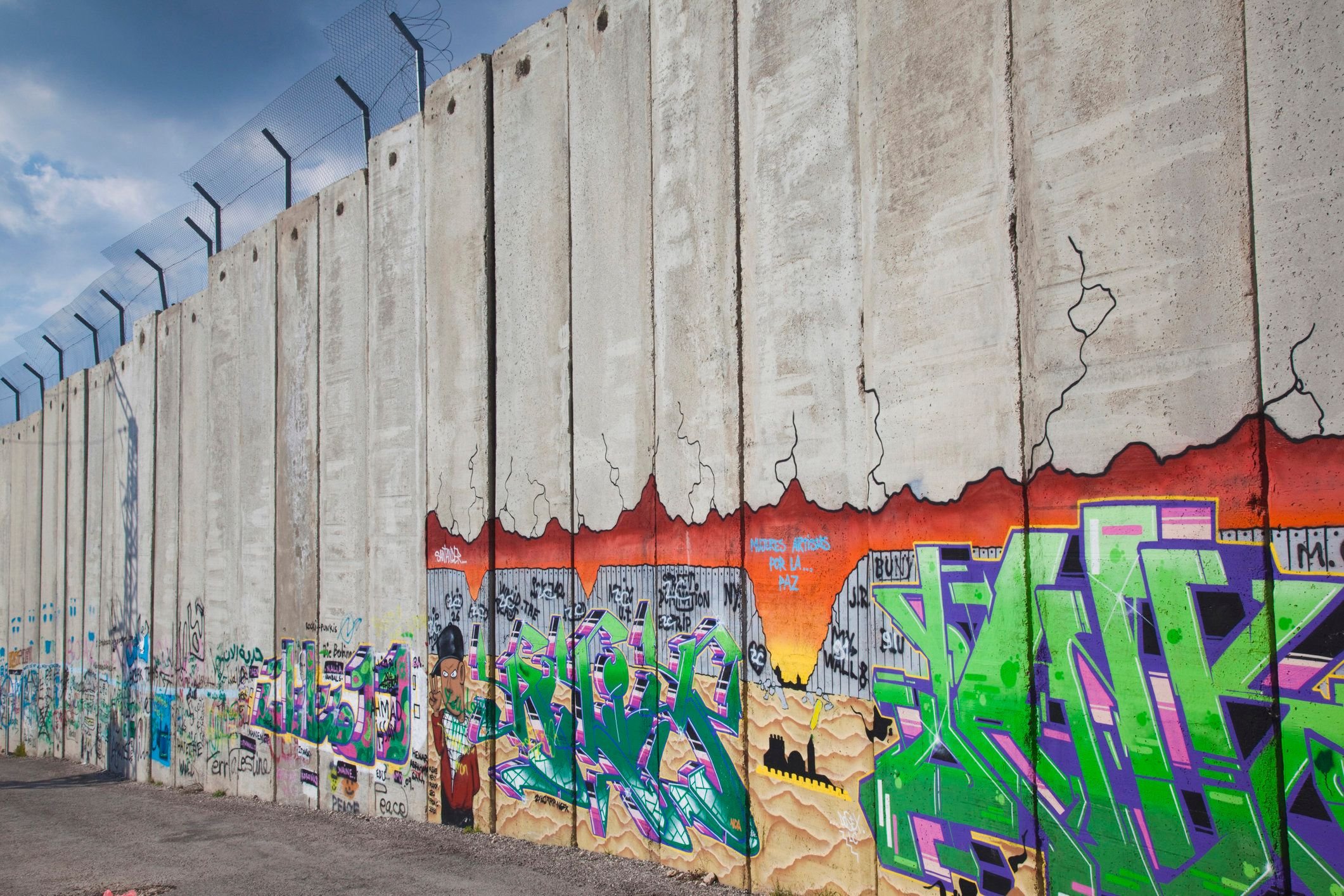 13 Famous Walls Around The World PHOTOS HuffPost