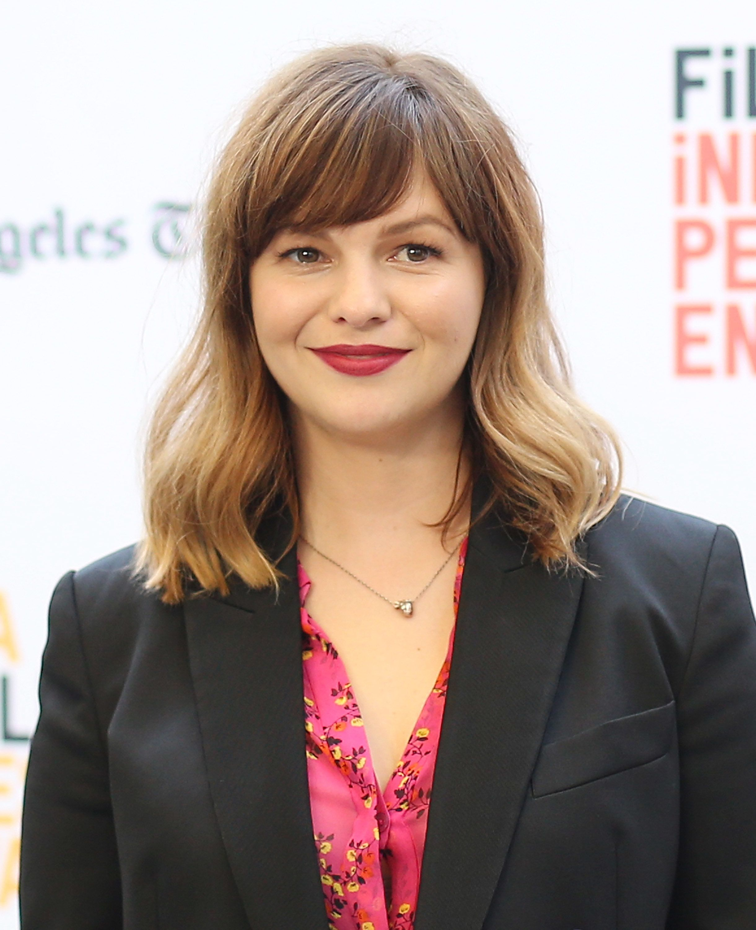 LOS ANGELES, CA - JUNE 03:  Amber Tamblyn arrives at the LA Film Festival premiere of Tangerine Entertainment's 'Paint It Black' held at Bing Theater At LACMA on June 3, 2016 in Los Angeles, California.  (Photo by Michael Tran/FilmMagic)
