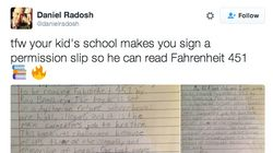 Read This Dad's Perfect Response To An Ironic School Permission