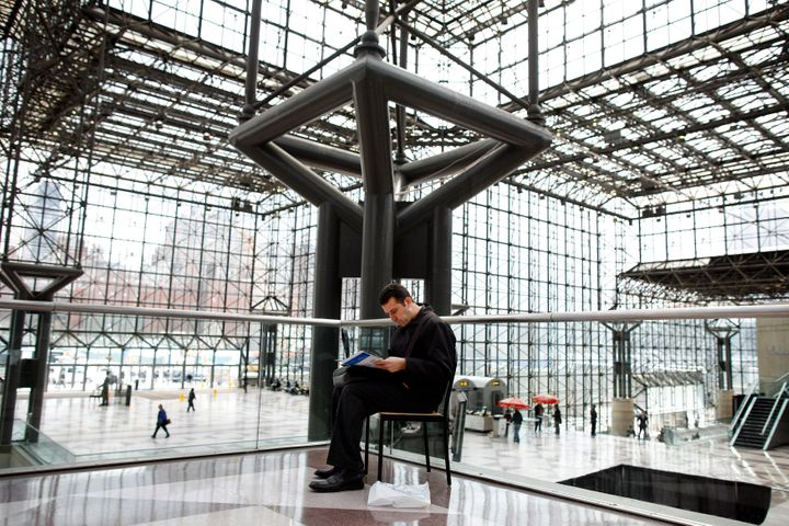 A look inside theJacob K. Javits Convention Center.