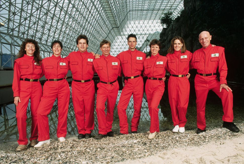 The first Biosphere 2 team, pre-enclosure.