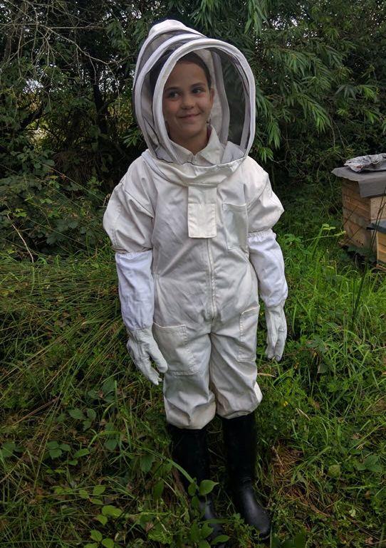 Trevor's sister is a fledgling beekeeper