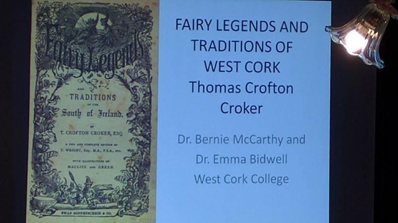 Thomas Crofton Croker collected Irish fairy tales