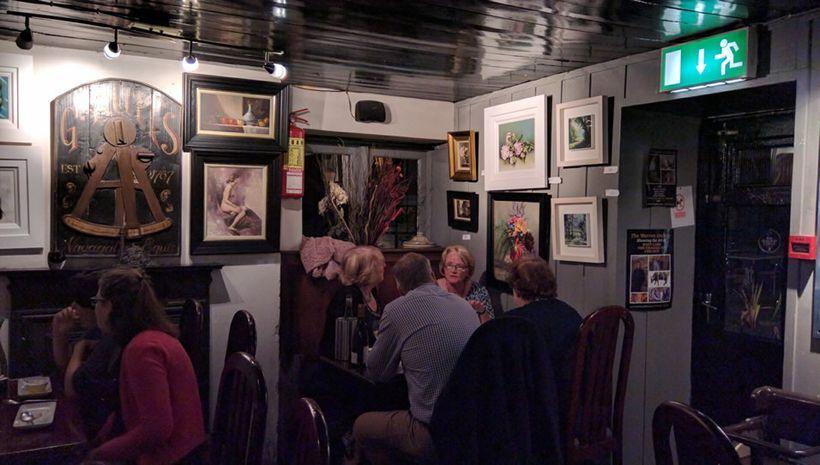 Mary Ann's is a popular Castletownshend restaurant