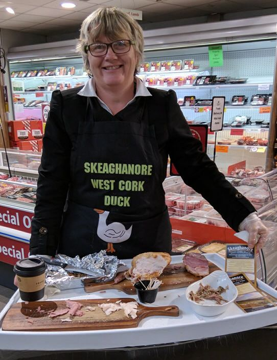 Samples from Skeaghanore West Cork Duck at Fields