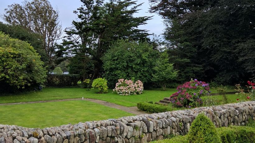 Inish Beg landscaping is inventive throughout