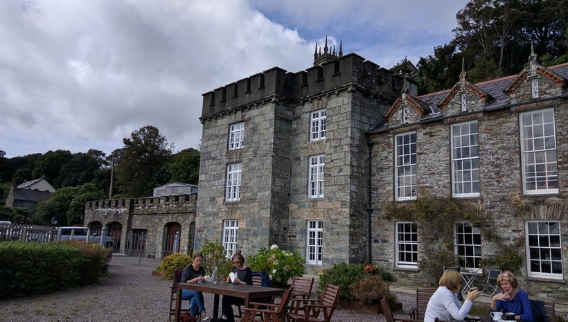 Castle Townshend is the family's traditional home