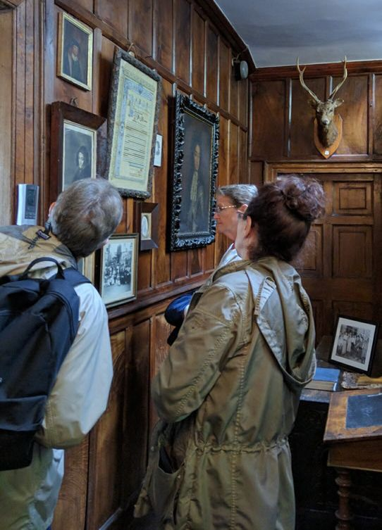 Townshend family photos and memorabilia are on display