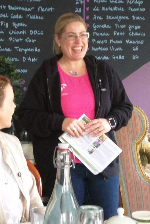 Kate Ryan leads Clonakilty Food Walking Tours