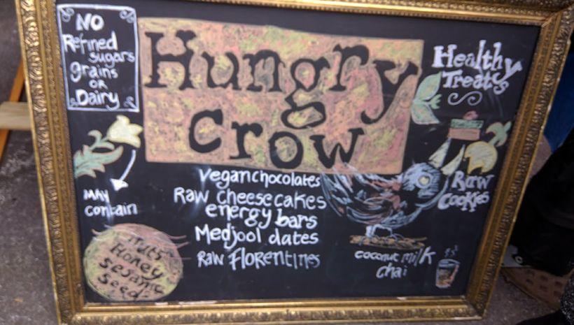 Hungry Crow sells healthy treats