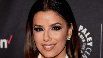 BEVERLY HILLS, CA - OCTOBER 24:  Actress Eva Longoria arrives at The Paley Center for Media's Hollywood Tribute to Hispanic Achievements in Television event at the Beverly Wilshire Four Seasons Hotel on October 24, 2016 in Beverly Hills, California.  (Photo by Amanda Edwards/WireImage)