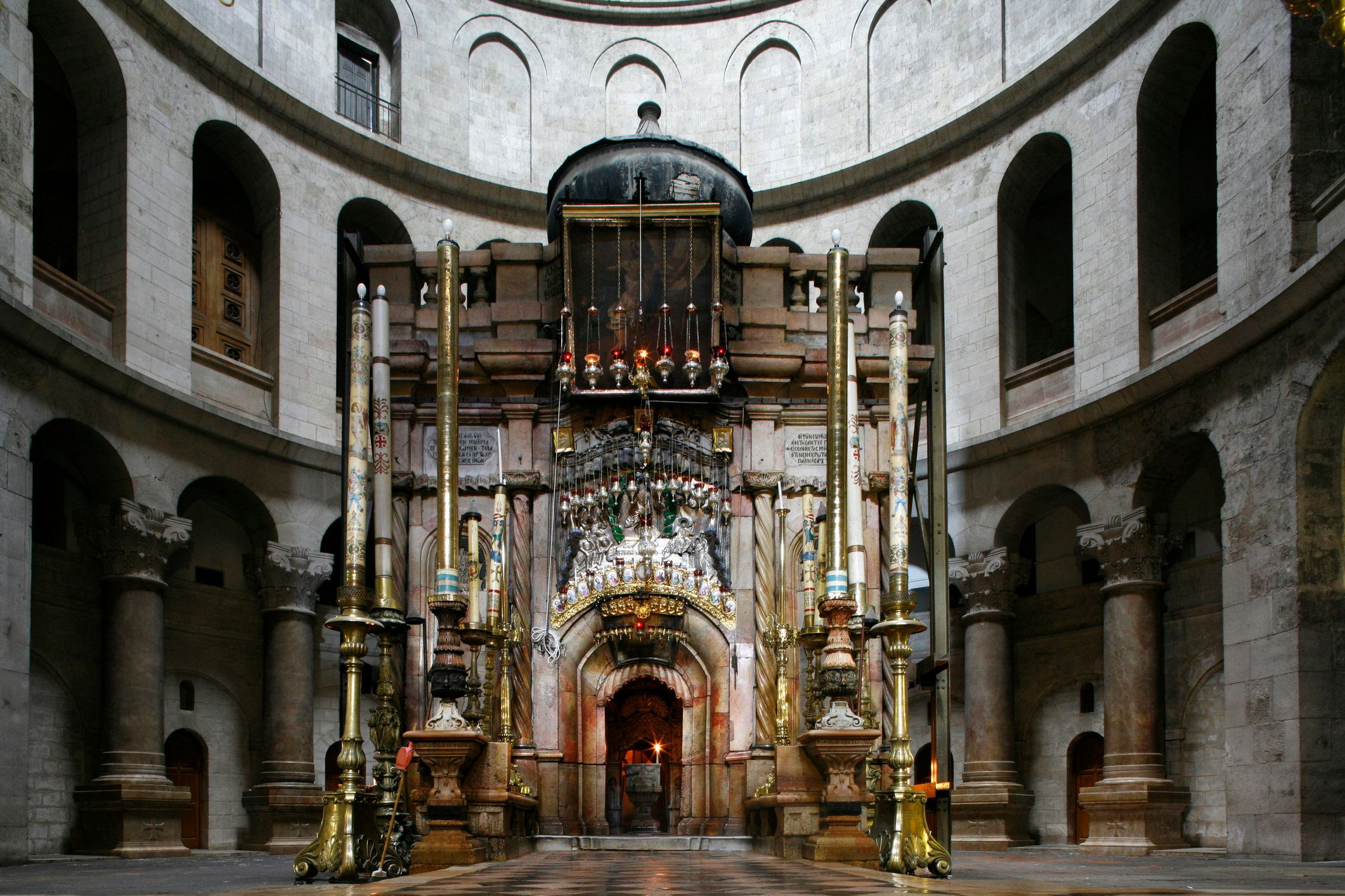 Tomb of Jesus at Church of the Holy Sepulchre