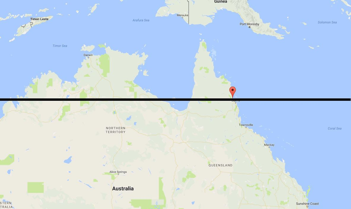Great Barrier Reef North Of This Line Is Almost All