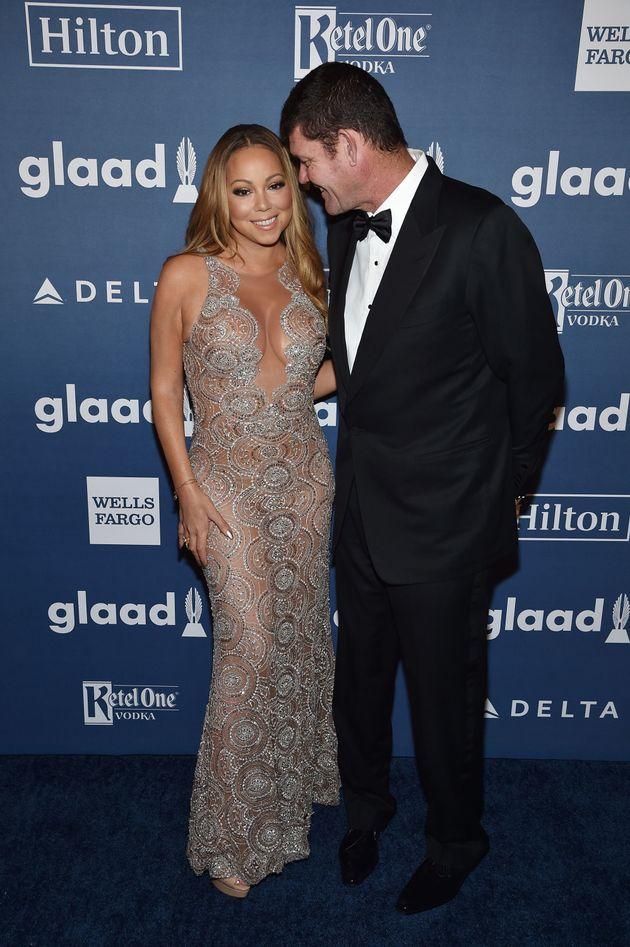 Mariah Carey and James
