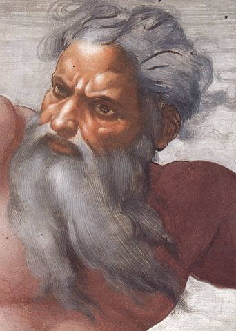 Michelangelo's portrait of God the Father