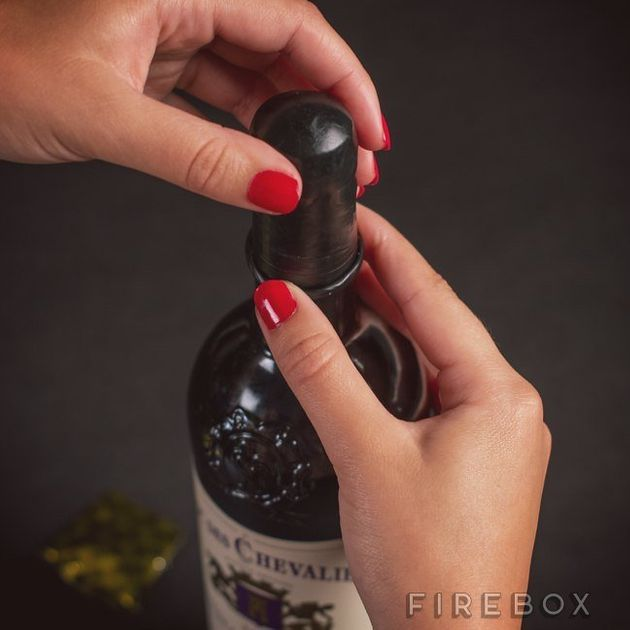 Wine Condoms Exist (But Not For The Reason You Might