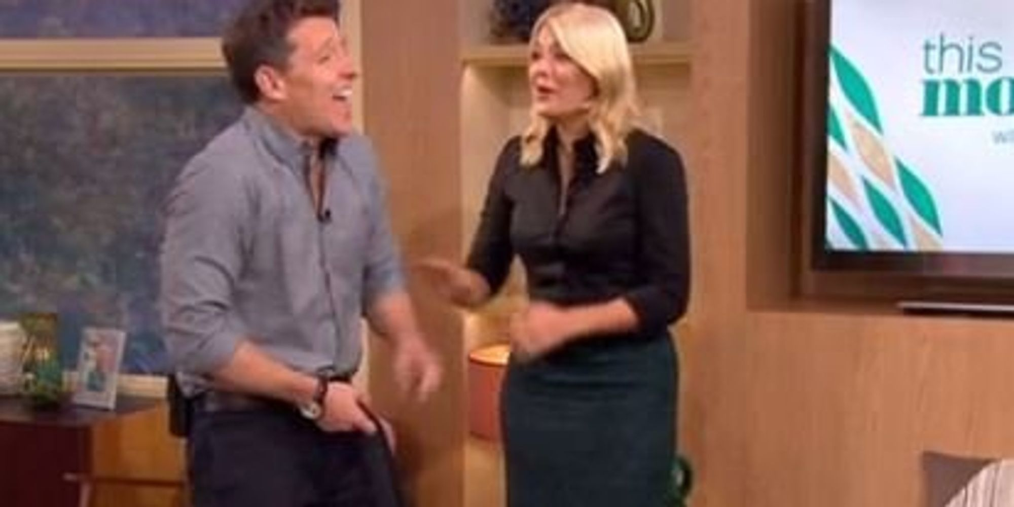 Holly Willoughby Makes A Hilarious Slip-Up Trying To Say 'Welly Wanging' On 'This Morning'