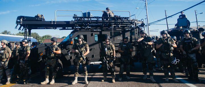 """<a href=""""https://www.flickr.com/photos/jbouie/14743480937/in/album-72157646091879339/"""" target=""""_blank"""">SWAT Team</a>, Ferguso"""