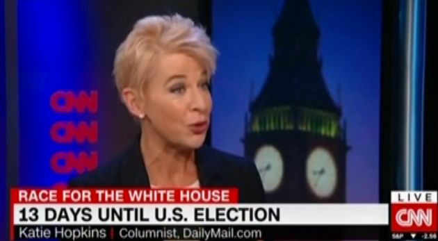 Katie Hopkins accused CNN of being the 'Clinton News