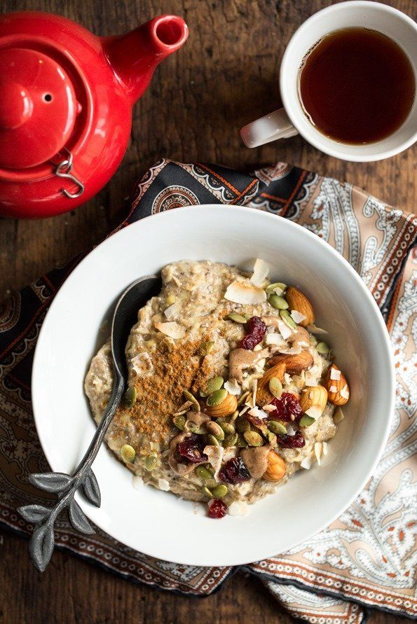 """<strong>Get the <a href=""""http://ohsheglows.com/2014/11/17/5-minute-oatmeal-power-bowl/#more-71819"""" target=""""_blank"""">5-Minute O"""