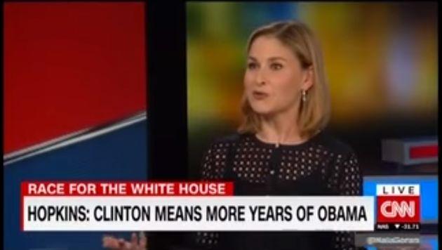 CNN presenter Hala Gorani is taken back by Katie Hopkins'