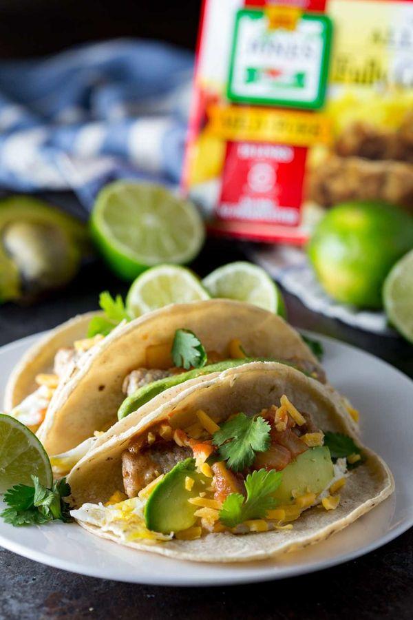 "<strong>Get the <a href=""http://www.eazypeazymealz.com/easy-5-min-breakfast-tacos/"" target=""_blank"">5-Minute Breakfast Tacos"