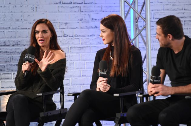 Jennifer appeared on the show with her co-stars Anna Passey and Jamie