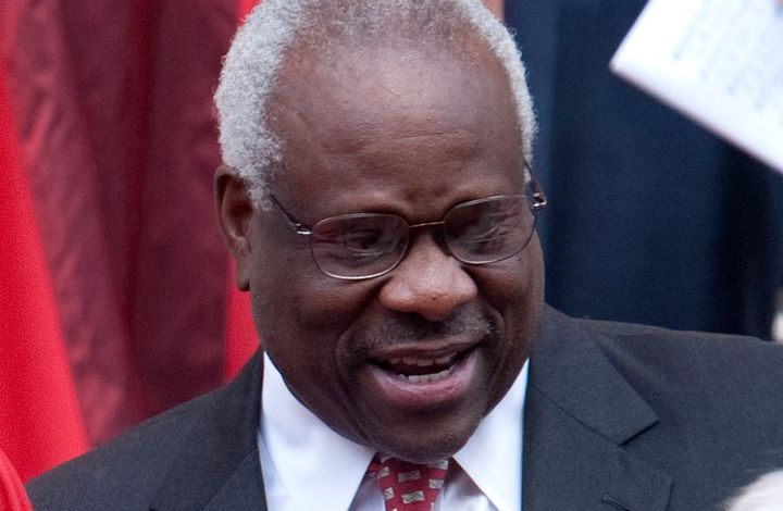 """You took an oath to show fidelity to the Constitution, you live up to it,"" Justice Clarence Thomas said."