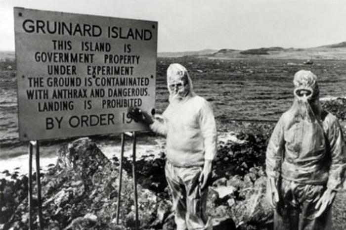 <p> <strong>Gruinard Island, Scotland</strong> </p>