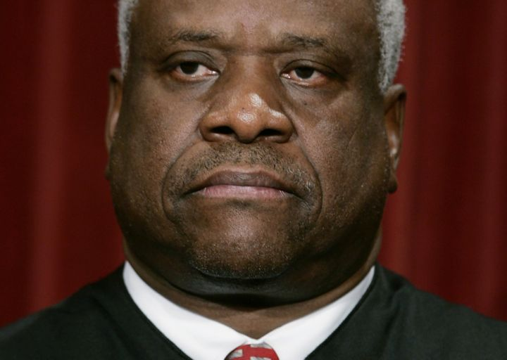 Justice Clarence Thomas has been accused of sexual harassment before.