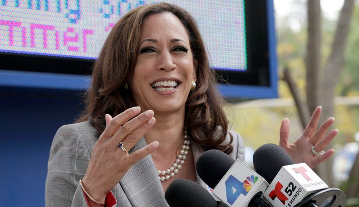 Kamala Harris is the next senator from California.