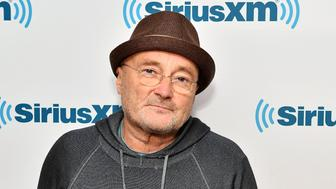 NEW YORK, NY - OCTOBER 26:  Musician Phil Collins visits SiriusXM Studio on October 26, 2016 in New York City.  (Photo by Slaven Vlasic/Getty Images)